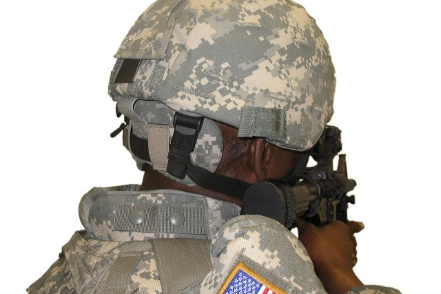 The Army is now fielding 430,000 new helmet pads, officially referred to as Nape Pads that are designed to better protect Soldiers' neck areas from ballistic fragmentation, to Soldiers serving in operations Iraqi Freedom and Enduring Freedom.