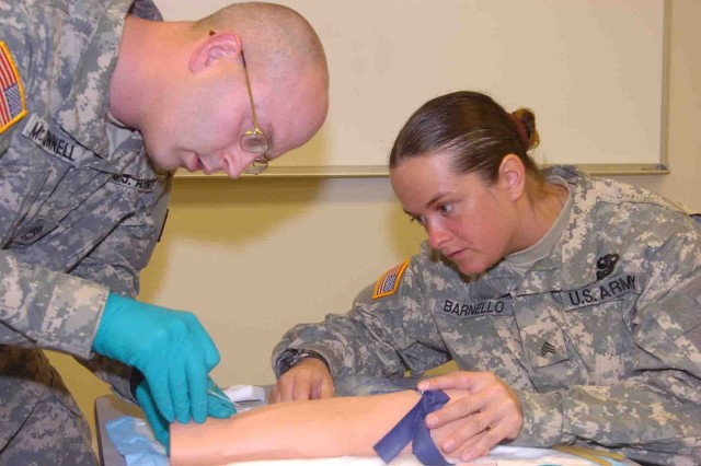 Training Soldiers in Lifesaving Skills