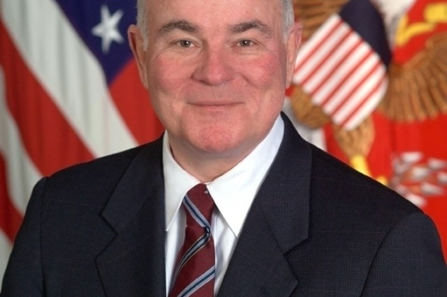The farewell ceremony for outgoing Secretary of the Army Dr. Francis J. Harvey will take place 2:30 March 9 at Conmy Hall on Fort Myer, Va.