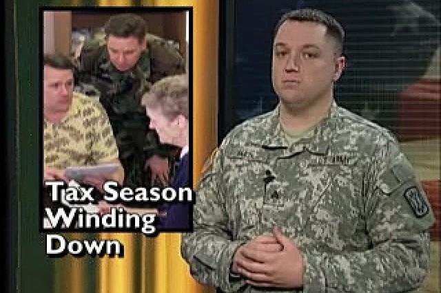 New Iraq commander GEN Petraeus speaks out; tax season winding down.