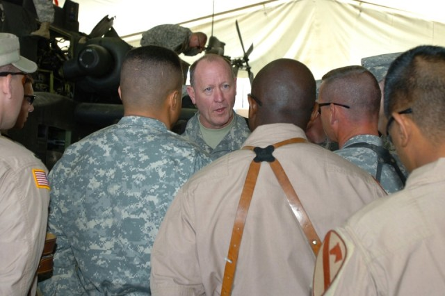 Combat Readiness Center Leader Stresses Safety to Soldiers in Iraq
