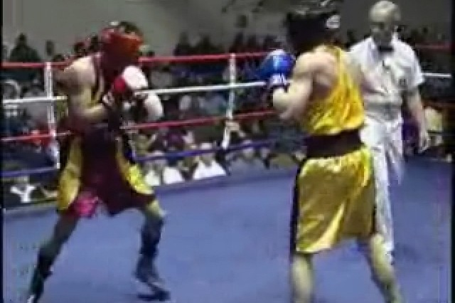 Army Dominates Armed Forces Boxing