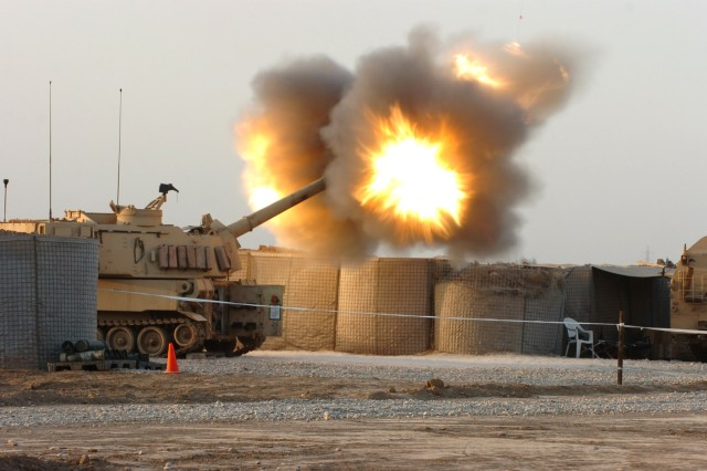 Field Artillery Fires New Modular Artillery Charge System on Taji