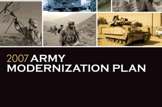 2007 Army Modernization Plan Cover