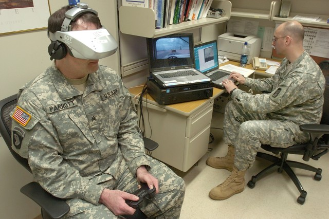 Army Uses Virtual Tool in its Battle with PTSD