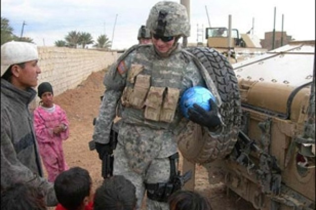 Program Sends Soccer Balls to Iraqi Children