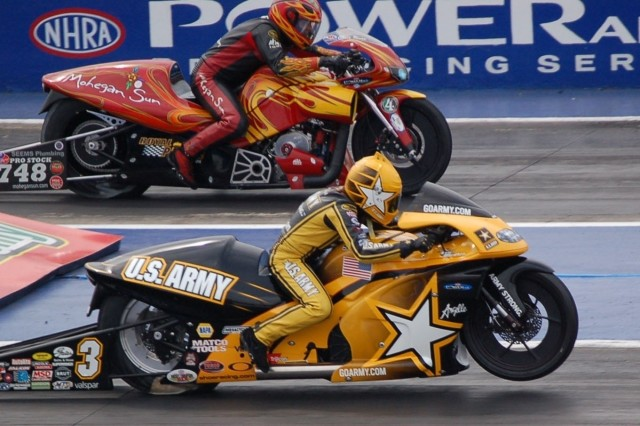 Sampey Takes First Win of Motorcycle Racing Season