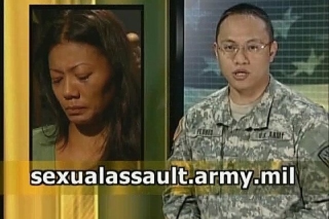 The US Army observes Sexual Assault Prevention Month.