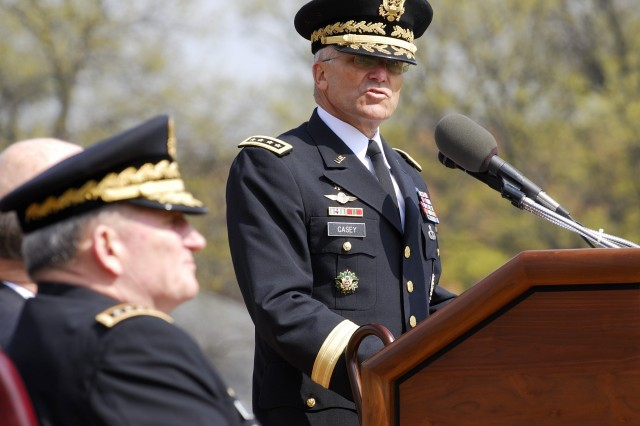 Gen. Casey Becomes Chief of Staff