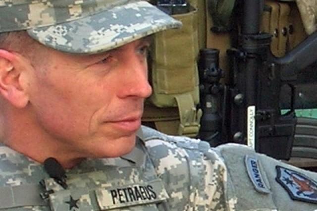 Gen. David H. Petraeus, MNF-I commander