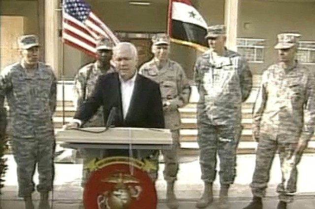 Iraq Media Availability