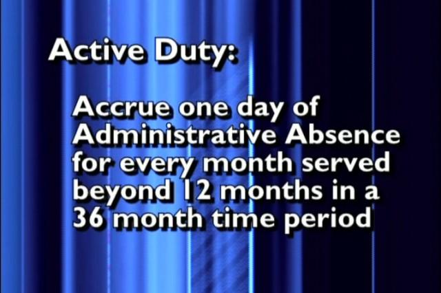 Active duty compensation.