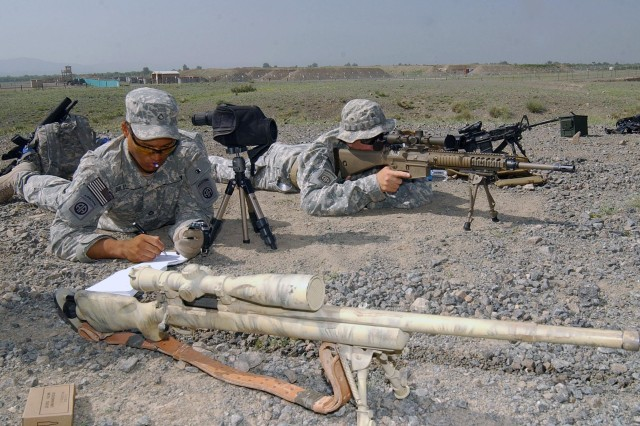 Snipers in Afghanistan Receive New Weapon