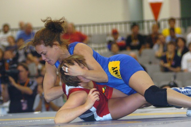 All-Army Female Wrestlers