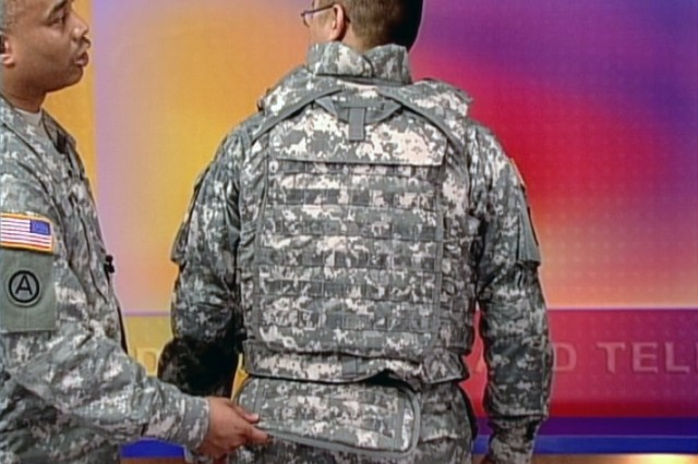 The Army's latest innovation in protective vests.