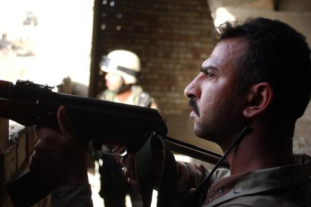 Combined Patrol in Adhamiya