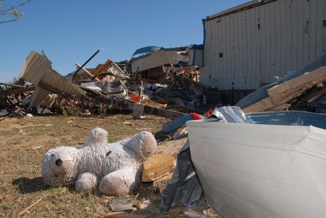 Guard Soldiers Assist in Aftermath of Texas Tornado Disaster