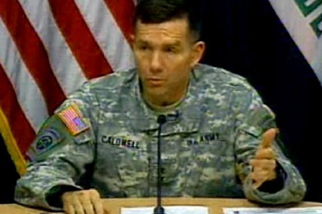Major General William Caldwell