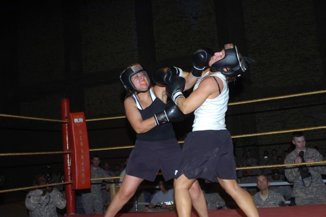 Boxing Tournament Brings Together Deployed Soldiers