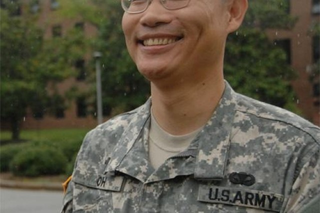 Chaplain (Maj.) Daniel Oh moved to America from Korea at age 18. Though he said he wasn't prepared for America's diversity, the Army has helped him find his unique place in American culture.