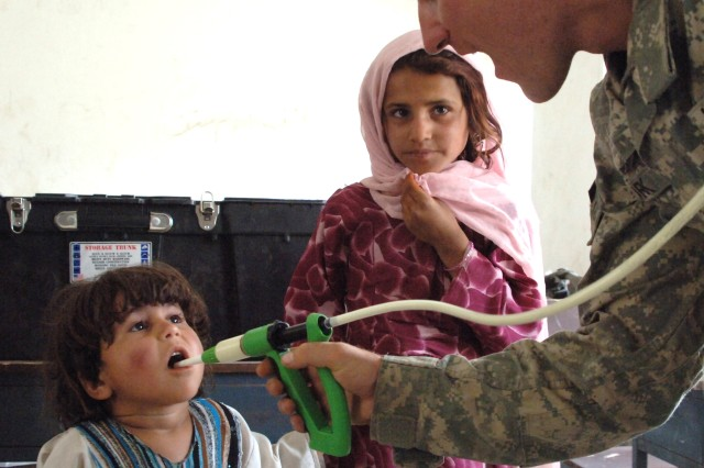 U.S. Soldiers Continue to Gain Trust of Afghan People