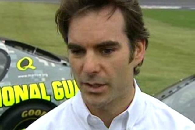 NASCAR driver Jeff Gordon.
