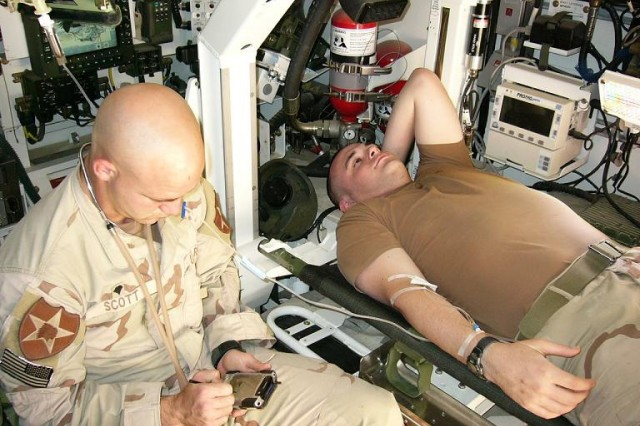 The U.S. Expeditionary Medical Facility Kuwait will become the first deployed hospital to gain total visibility of inpatient medical procedures completed on the battlefield this month.