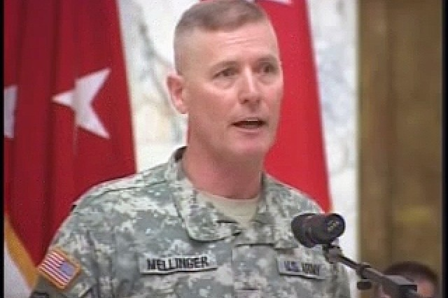 Command Sgt. Maj. Jeffrey Mellinger leaves Iraq after 3 years as the top NCO for MNF-I.