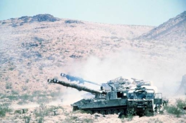 The Paladin provides the primary artillery support for armored and mechanized infantry divisions.
