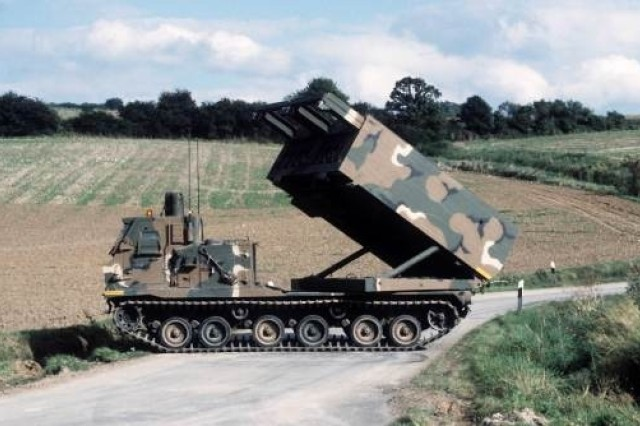 The MRLS provides counter fire and suppression of enemy air defenses, light material, and personnel targets at ranges from 15 to 300+ kilometers.