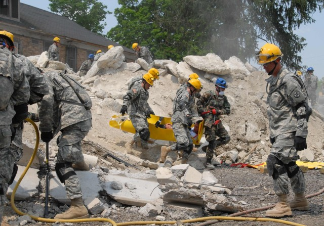 Guard Tested as First Military Responder to Nuclear Disaster