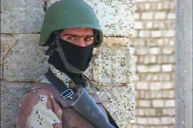 Iraqi Army Soldiers conduct operations in Diyala.
