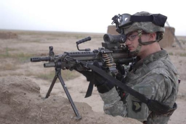 The M249 is designed to deter, and if necessary, compel adversaries by enabling individuals and small units to engage targets with accurate, lethal, direct automatic fire.