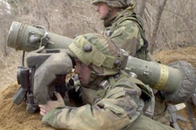 The Javelin provides a man-portable, highly lethal and survivable medium anti-tank weapon system to the infantry, scouts, and combat engineers.