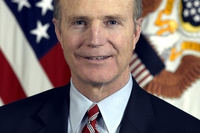 Acting Secretary of the Army Pete Geren