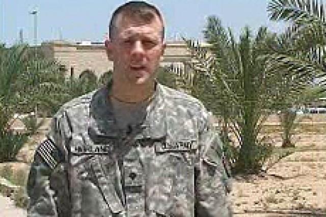 Spc. Chad Highland