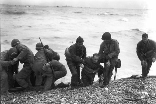 D-Day: Injured Soldiers