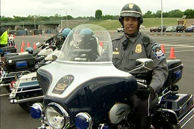 Pentagon Police Officer Stephen Boyd tells us about motorcycle safety.