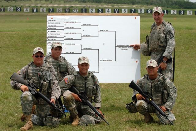 First Army Commander's Warrior Challenge Challenges Soldiers