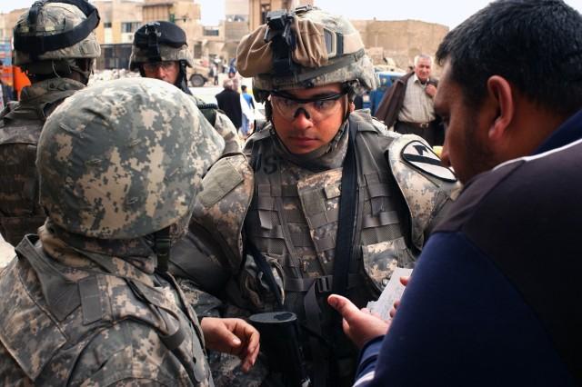 U.S., Iraqi Troops Transform 'Purple Heart Boulevard'