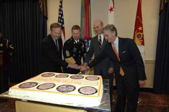 Birthday Cake Cutting on Capitol Hill