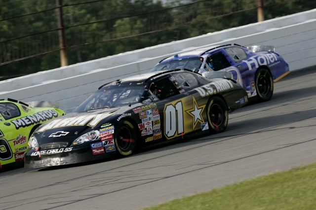 Army Driver Scores Season's 7th Top-10 Finish