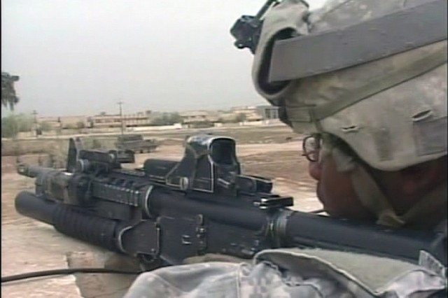 Soldiers do their best to prevent stress while in combat.