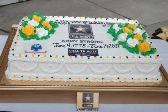 Fort Lee Army Birthday Cake