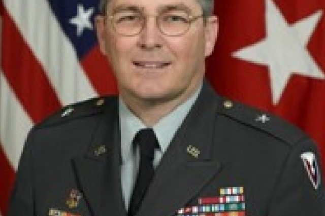 Brig. Gen. R. Mark Brown, commander of the Army's Program Executive Office Soldier program.
