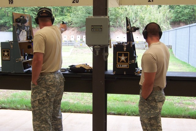 Army Sweeps Interservice Pistol Championships