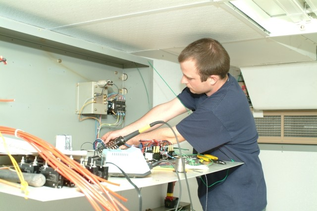 Depot Repairs Battle-damaged Equipment