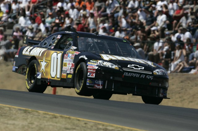 Regan Smith finished 30th in his maiden Nextel Cup road race June 24 at Infineon Raceway in Sonoma, Calif.