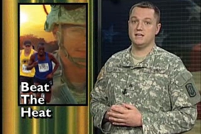 Army Combat Readiness Centers remind us of how to avoid heat-related injury.