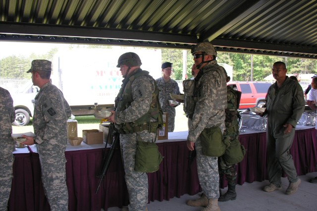 Soldiers at Fort McCoy Celebrate Army Birthday